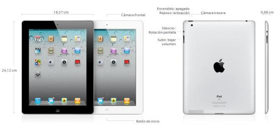 iPad 2 especificaciones
